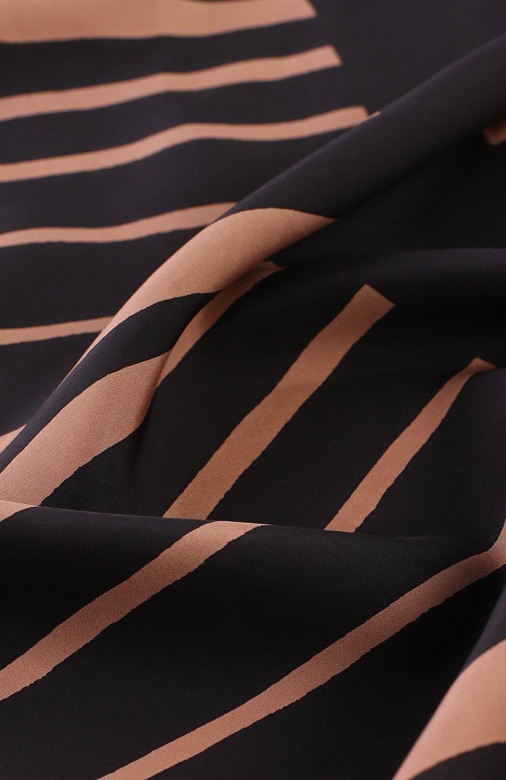 Мужской шелковый шарф с бахромой BOTTEGA VENETA разноцветного цвета, арт. 509619/4V028 | Фото 2