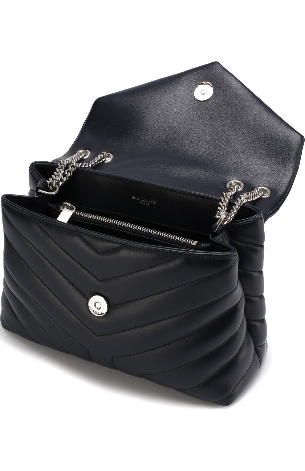 Женская сумка monogram loulou small SAINT LAURENT синего цвета, арт. 494699/DV726 | Фото 4