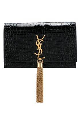 Женская сумка monogram kate small SAINT LAURENT черного цвета, арт. 452159/DND1J | Фото 1