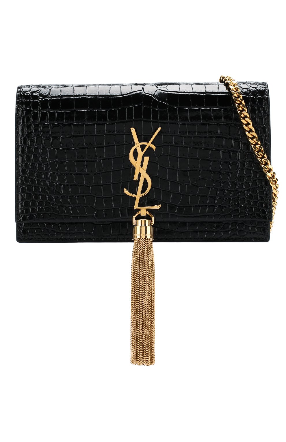 Женская сумка monogram kate small SAINT LAURENT черного цвета, арт. 452159/DND1J | Фото 6