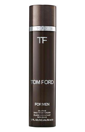Мужского увлажняющий лосьон oil-free daily moisturizer TOM FORD бесцветного цвета, арт. T1WY-01 | Фото 1