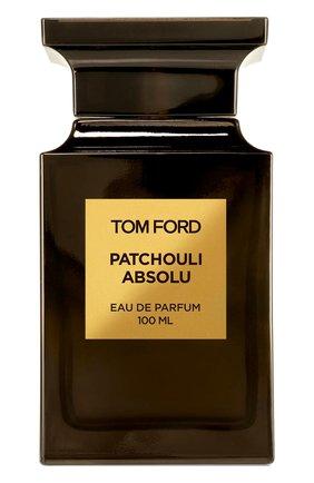 Женский парфюмерная вода patchouli absolu TOM FORD бесцветного цвета, арт. T3EN-01   Фото 1