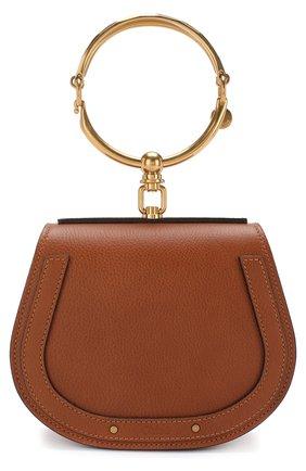 Женская сумка nile small CHLOÉ светло-коричневого цвета, арт. CHC17US301HEU   Фото 1