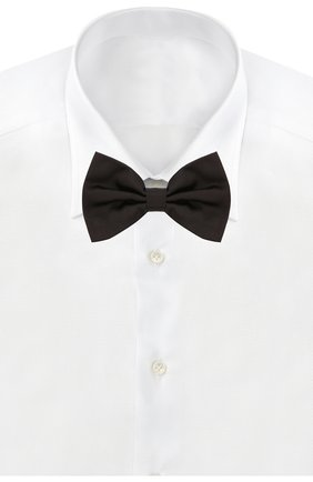 Мужской шелковый галстук-бабочка DOLCE & GABBANA черного цвета, арт. GR053E/G0U05 | Фото 2