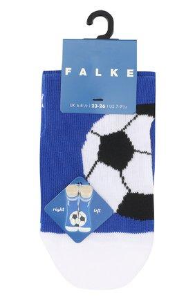 Детские носки с принтом Falke синего цвета | Фото №1