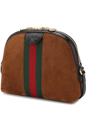 Женская сумка ophidia small GUCCI коричневого цвета, арт. 499621/D6ZYG | Фото 3