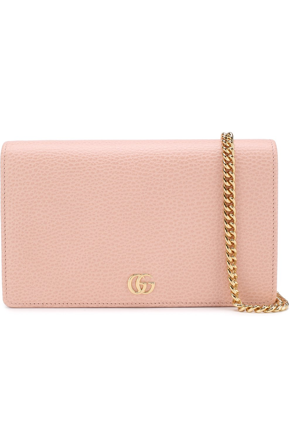 Женская сумка gg marmont mini GUCCI розового цвета, арт. 497985/CA00G | Фото 5