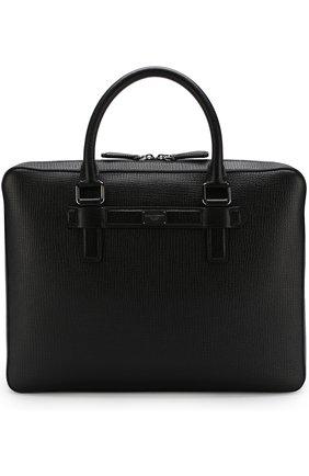 Кожаная сумка Ufficio для ноутбука | Фото №1