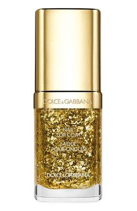 Закрепляющее покрытие для ногтей, оттенок Dazzling Gold | Фото №1