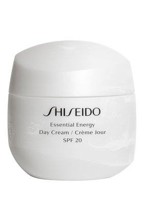 Дневной энергетический крем Shiseido | Фото №1