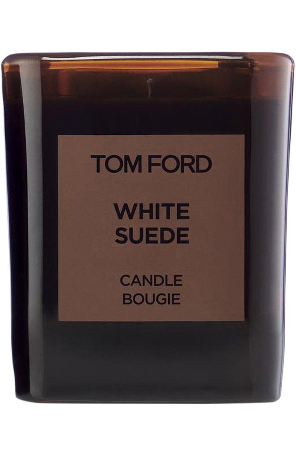 Ароматическая свеча White Suede | Фото №1
