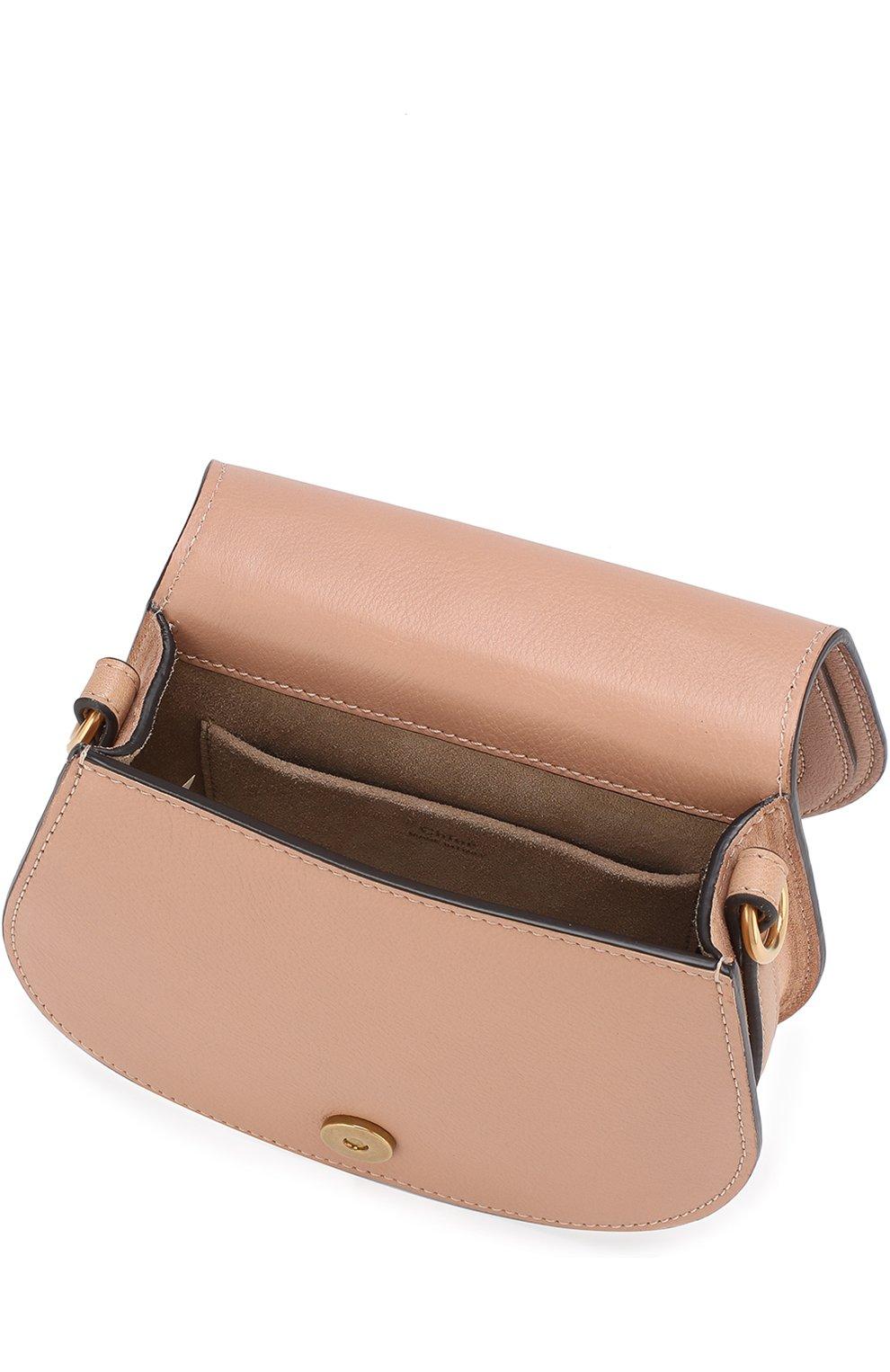 Женская сумка nile small CHLOÉ светло-бежевого цвета, арт. CHC17US301HEU | Фото 4