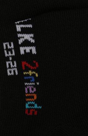 Детские комплект из двух пар носков Falke черного цвета | Фото №2