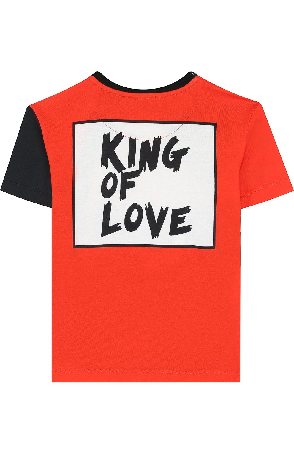 Хлопковая футболка с принтом   Фото №2