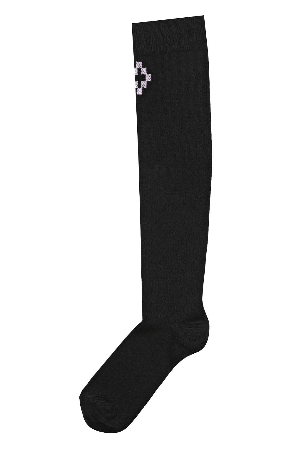 Хлопковые носки с логотипом бренда   Фото №1