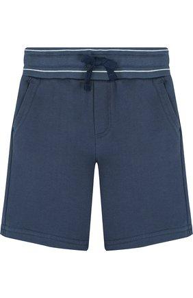Хлопковые шорты с широким поясом | Фото №1
