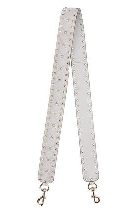 d41491f43471 Кожаный ремень для сумки Valentino Garavani Rockstud Spike | Фото №1