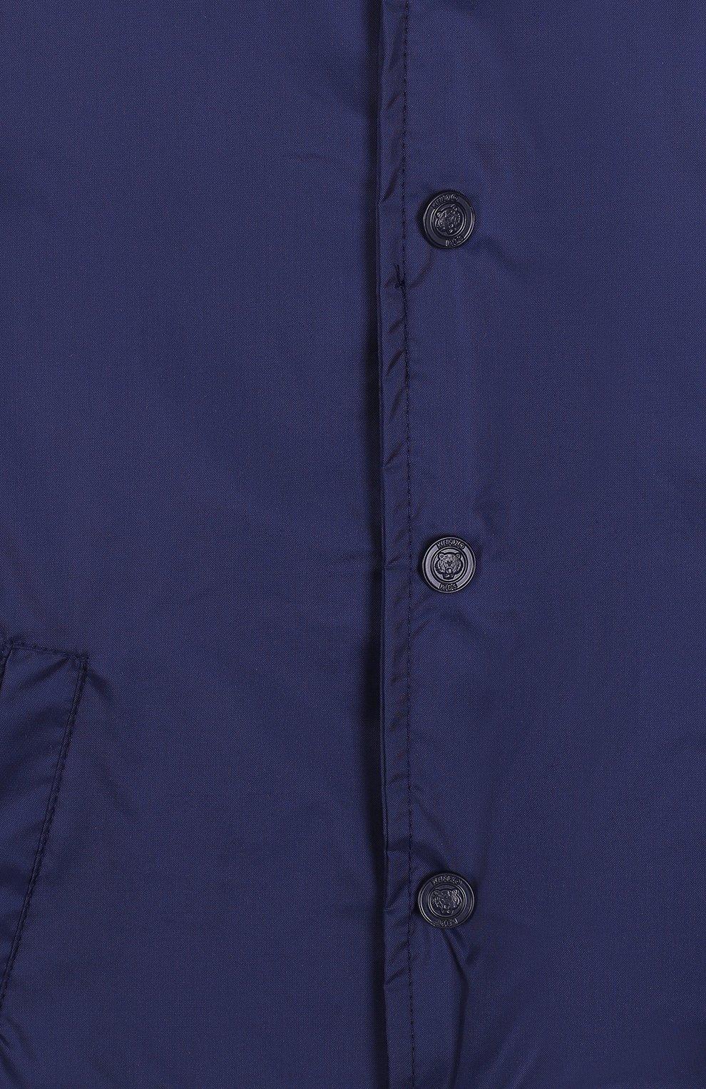 Детского комплект из ветровки и панамы KENZO темно-синего цвета, арт. KL42508/3A-6A | Фото 5