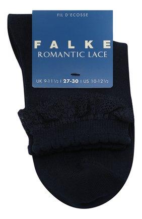Детские носки FALKE темно-синего цвета, арт. 12141 | Фото 1