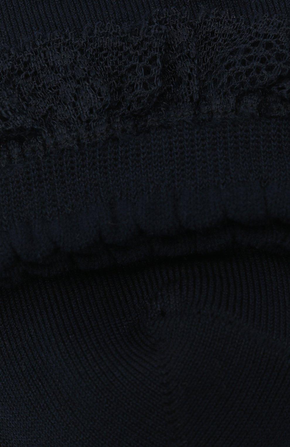 Носки с кружевной оборкой | Фото №2