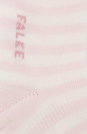 Детские хлопковые носки FALKE розового цвета, арт. 10045 | Фото 2