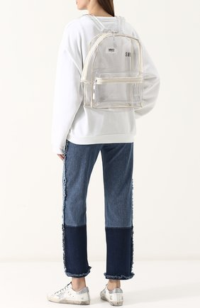 Прозрачный рюкзак   Фото №2