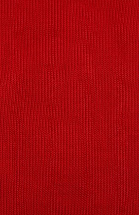 Детские гольфы из хлопка FALKE красного цвета, арт. 11645 | Фото 2
