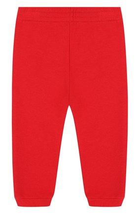 Детские хлопковые джоггеры с логотипом бренда GUCCI красного цвета, арт. 509179/X3L00 | Фото 2