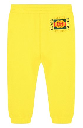 Хлопковые джоггеры с логотипом бренда | Фото №1