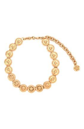 Женское колье tribute meduse VERSACE золотого цвета, арт. DG3G402/DJMT | Фото 1