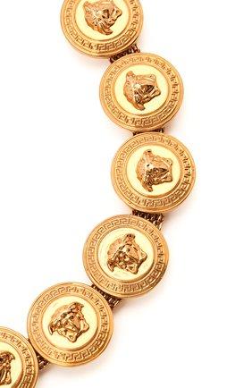 Женское колье tribute meduse VERSACE золотого цвета, арт. DG3G402/DJMT | Фото 2