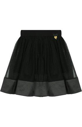 Многослойная юбка с отделкой | Фото №1