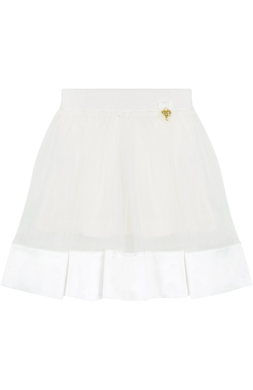Многослойная юбка с отделкой   Фото №1