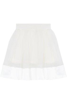 Многослойная юбка с отделкой   Фото №2