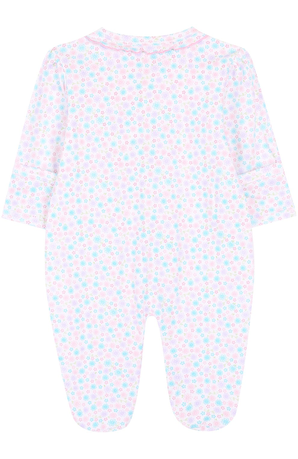 Детский хлопковая пижама с принтом KISSY KISSY разноцветного цвета, арт. S1845604 | Фото 2