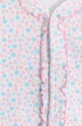Детский хлопковая пижама с принтом KISSY KISSY разноцветного цвета, арт. S1845604 | Фото 3