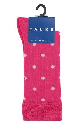 Детские хлопковые носки FALKE фуксия цвета, арт. 11866 | Фото 1