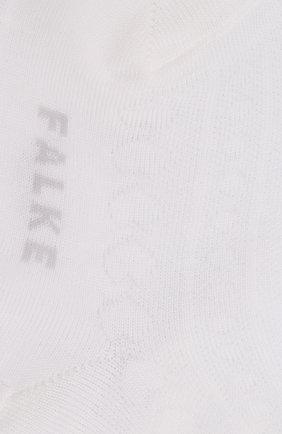 Детские хлопковые носки FALKE белого цвета, арт. 12140 | Фото 2