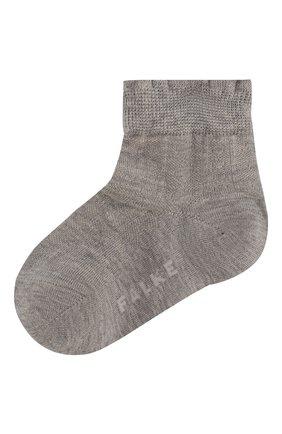 Детские хлопковые носки FALKE светло-серого цвета, арт. 12140 | Фото 1