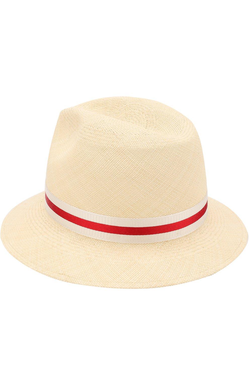 Женская соломенная шляпа ingrid с лентой LORO PIANA кремвого цвета, арт. FAI1527 | Фото 2