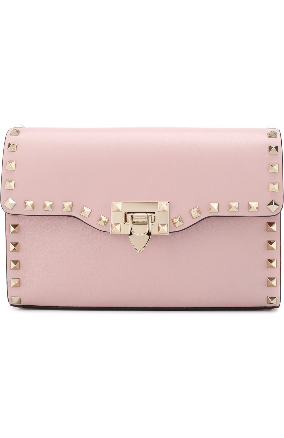 Женская сумка valentino garavani rockstud spike medium VALENTINO светло-розового цвета, арт. PW0B0181/WCI | Фото 1