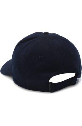 Детская бейсболка с логотипом бренда MONCLER ENFANT темно-синего цвета, арт. D1-954-00121-05-04863 | Фото 2