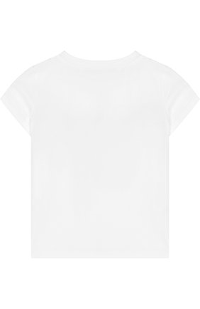 Детская хлопковая футболка с принтом EMILIO PUCCI белого цвета, арт. 9I8111/IA570/6-9 | Фото 2