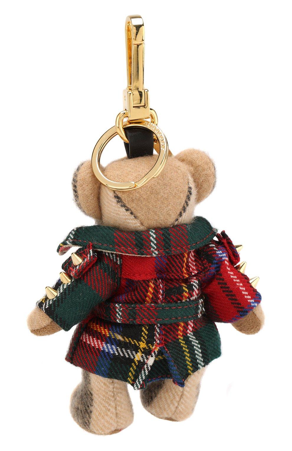 Брелок Thomas Bear в тренче в шотландскую клетку | Фото №2