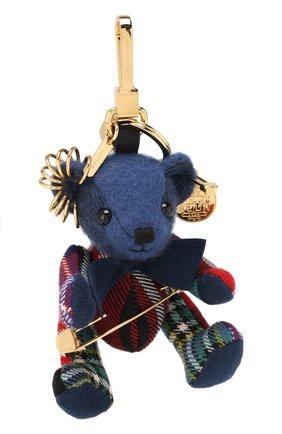 Брелок Thomas Bear из кашемира с декоративной булавкой | Фото №1