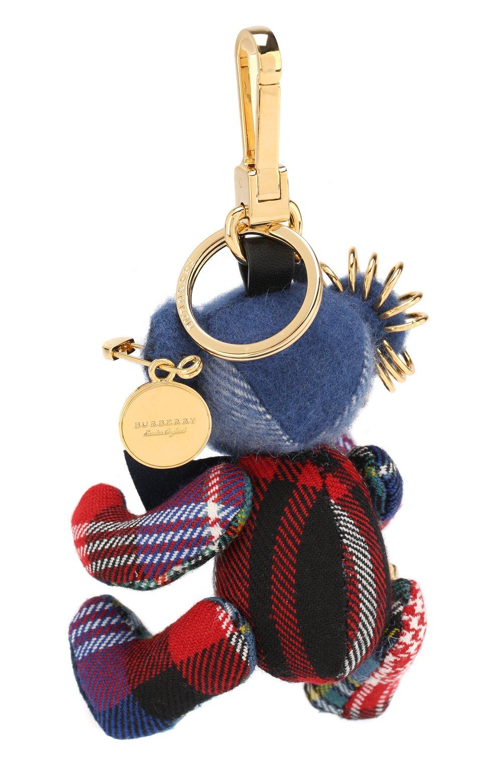 Брелок Thomas Bear из кашемира с декоративной булавкой | Фото №2