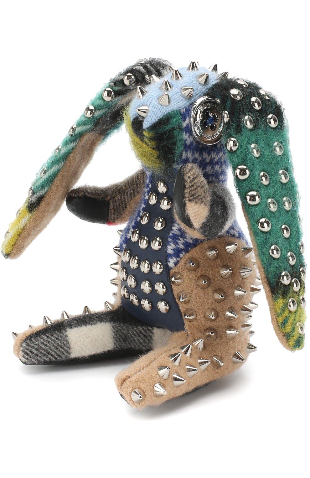 Кашемировый брелок Vera с металлическими заклепками | Фото №1