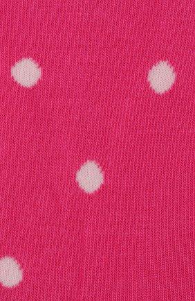 Детские хлопковые носки FALKE фуксия цвета, арт. 10206 | Фото 2