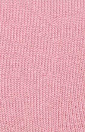 Детские носки из хлопка FALKE светло-розового цвета, арт. 10645 | Фото 2