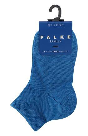 Детские укороченные носки FALKE синего цвета, арт. 10631 | Фото 1